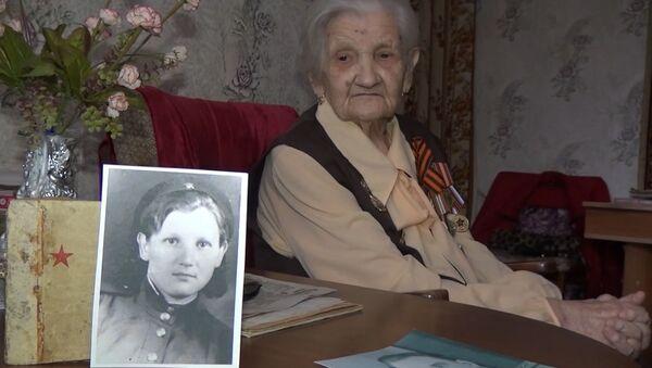Ekaterina Gúseva, veterana de la Gran Guerra Patria, la guerra soviética contra el régimen nazi de 1941-1945 - Sputnik Mundo