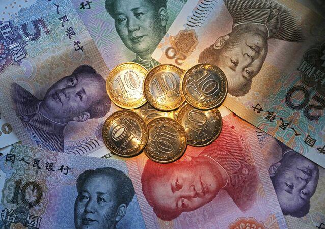 El rublo y el yuan, monedas de Rusia y China