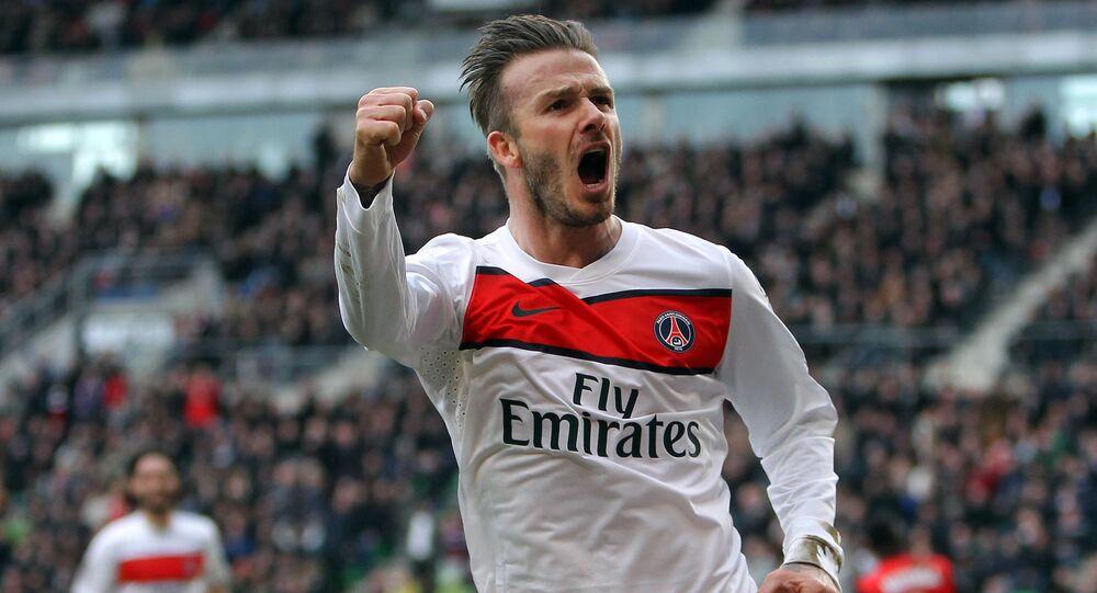 David Beckham en 2013