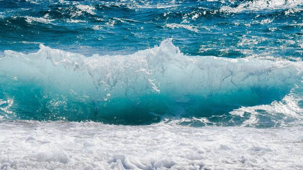 Una ola del océano, referencial - Sputnik Mundo