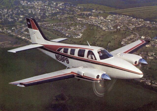 Avioneta Beechcraft Baron 55 (referencial)