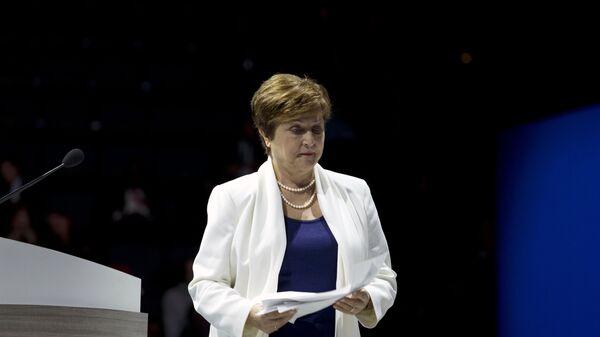 Kristalina Georgiewa, la directora gerente del FMI - Sputnik Mundo
