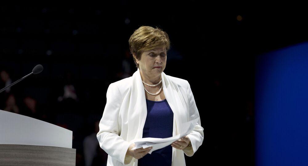 Kristalina Georgiewa, la directora gerente del FMI