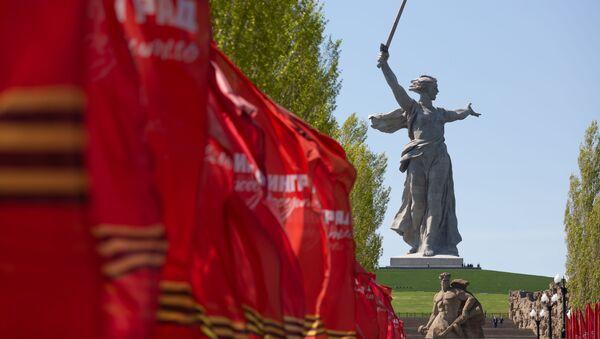 Monumento a la Madre Patria en Volgogrado (Rusia) - Sputnik Mundo