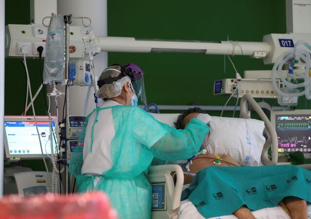El hospital de La Paz en Madrid