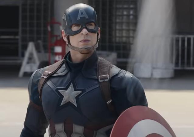 Capitán América, captura de pantalla