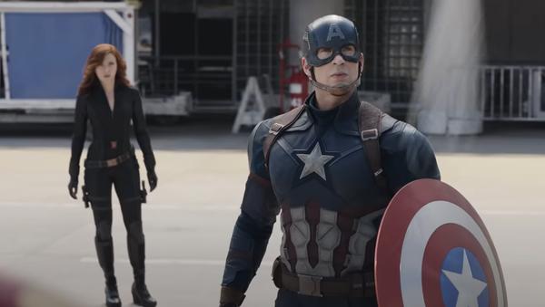 Capitán América, captura de pantalla - Sputnik Mundo