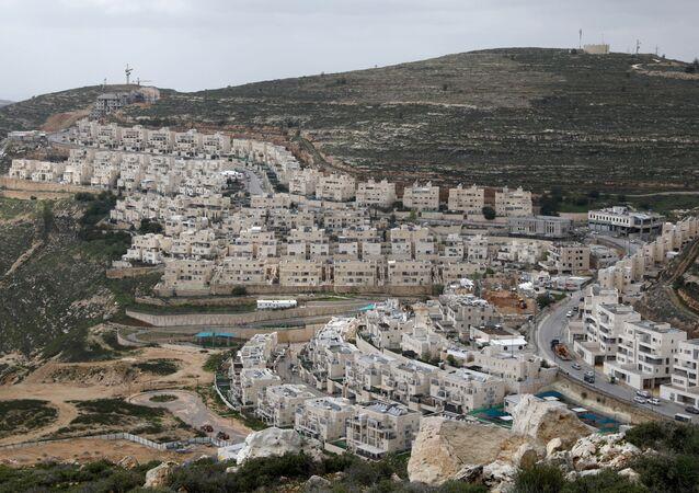 Los asentamientos israelíes en Cisjordania