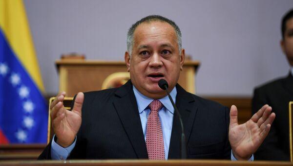 Diosdado Cabello, presidente de la Asamblea Nacional Constituyente - Sputnik Mundo