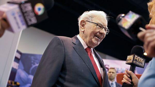 Warren Buffett, magnate estadounidense - Sputnik Mundo