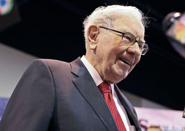 Warren Buffett, magnate estadounidense