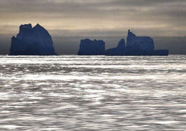 Los glaciares de la Antártida