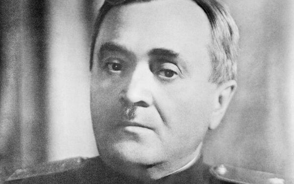 Alexandr Alexándrov, compositor soviético, autor del himno de la URSS y Rusia y el fundador del Conjunto de Canto y Danza Alexándrov, también conocido como coro del Ejército Rojo - Sputnik Mundo