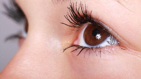 Ojos de una mujer (imagen referencial) - Sputnik Mundo