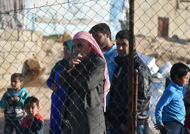 Un campo de refugiados sirios en El Líbano (archivo)