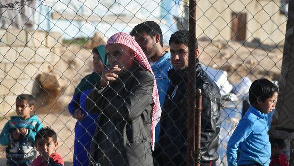 Refugiados sirios, foto de archivo - Sputnik Mundo