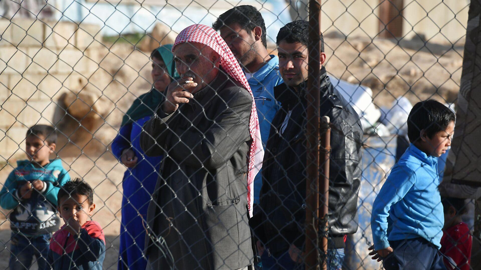 Refugiados sirios, foto de archivo - Sputnik Mundo, 1920, 29.03.2021