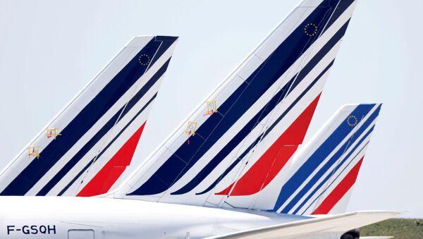 Aviones de la aerolínea francesa Air France - Sputnik Mundo