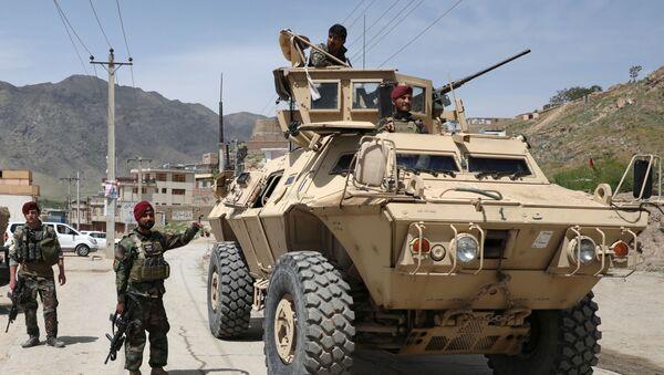Militares del Ejército Nacional Afgano - Sputnik Mundo