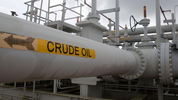 Una tubería de petróleo en Texas - Sputnik Mundo