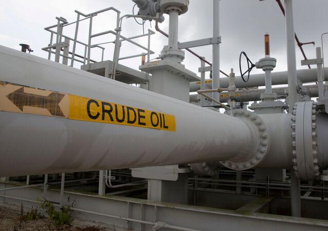 Una tubería de petróleo en Texas (imagen referencial)