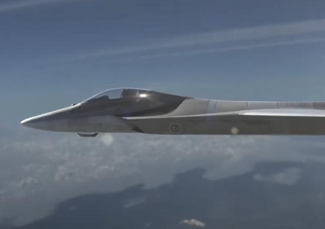 El caza de quinta generación que forma parte del proyecto TF-X