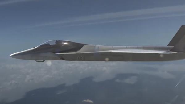 El caza de quinta generación que forma parte del proyecto TF-X  - Sputnik Mundo