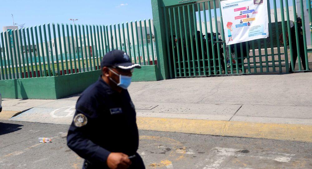 Un policía en México (imagen referencial)
