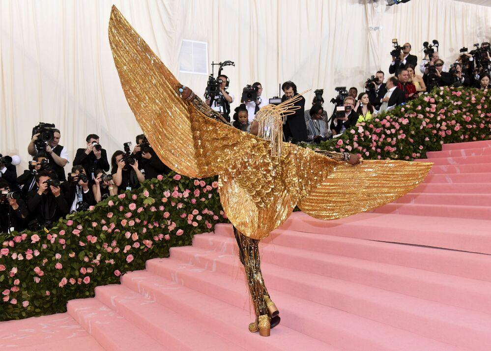 Imaginación sin límites: los extravagantes trajes de la Gala del Met en Nueva York