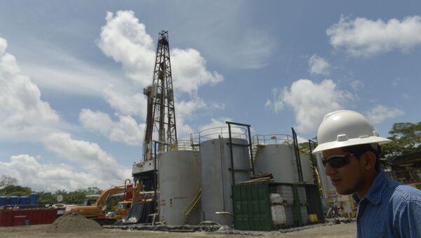 Instalación de Petroamazonas en Tiputini, Ecuador - Sputnik Mundo