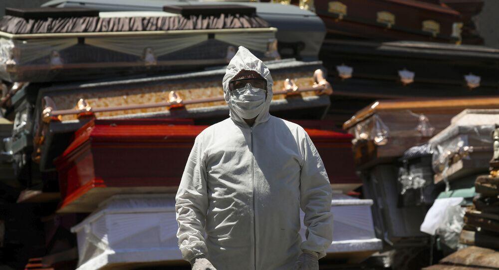 Crematorio de Xochimilco (México) durante la pandemia de coronavirus