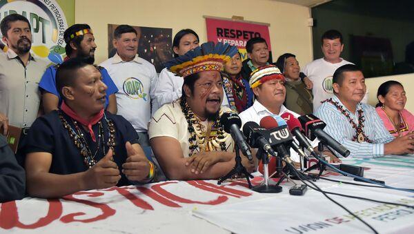 Indígenas Siekopai de la Amazonía ecuatoriana - Sputnik Mundo