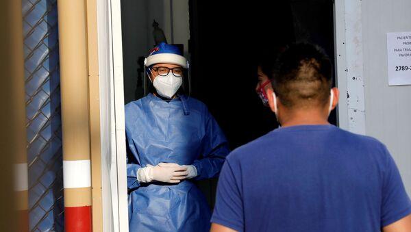 Sanitarios en Ciuadad de México, México - Sputnik Mundo