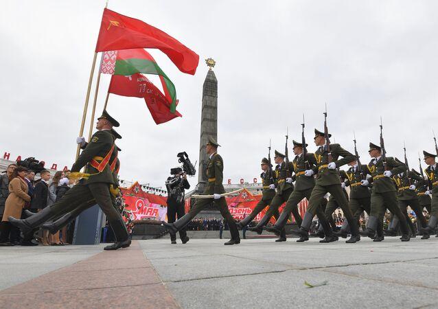 El desfile militar del Día de la Victoria en Minsk (archivo)