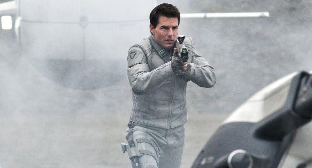 Tom Cruise en la película 'Oblivion'