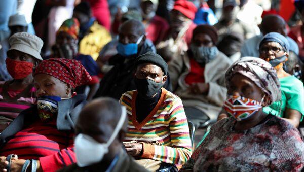 Africanos durante la pandemia de coronavirus - Sputnik Mundo