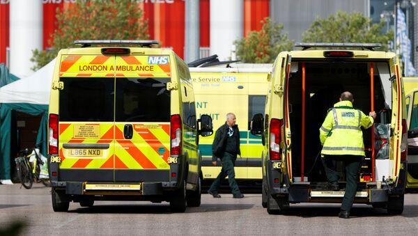 Ambulancias de Londres - Sputnik Mundo