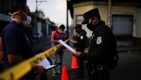 La epidemia de coronavirus en El Salvador - Sputnik Mundo