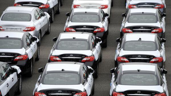 Automóviles Nissan Infinity, foto de archivo - Sputnik Mundo