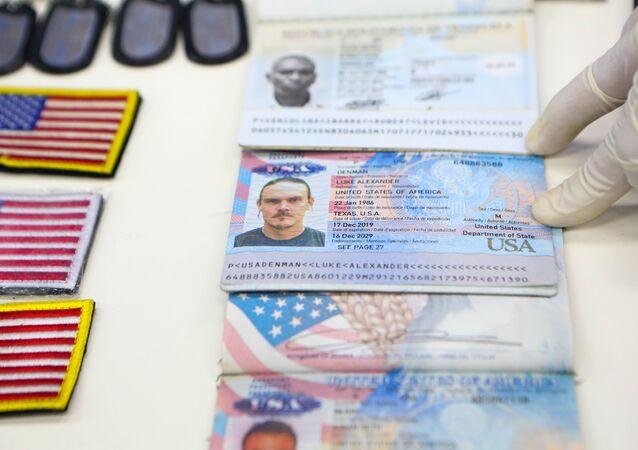 Documentos de identidad de los mercenarios detenidos en Venezuela