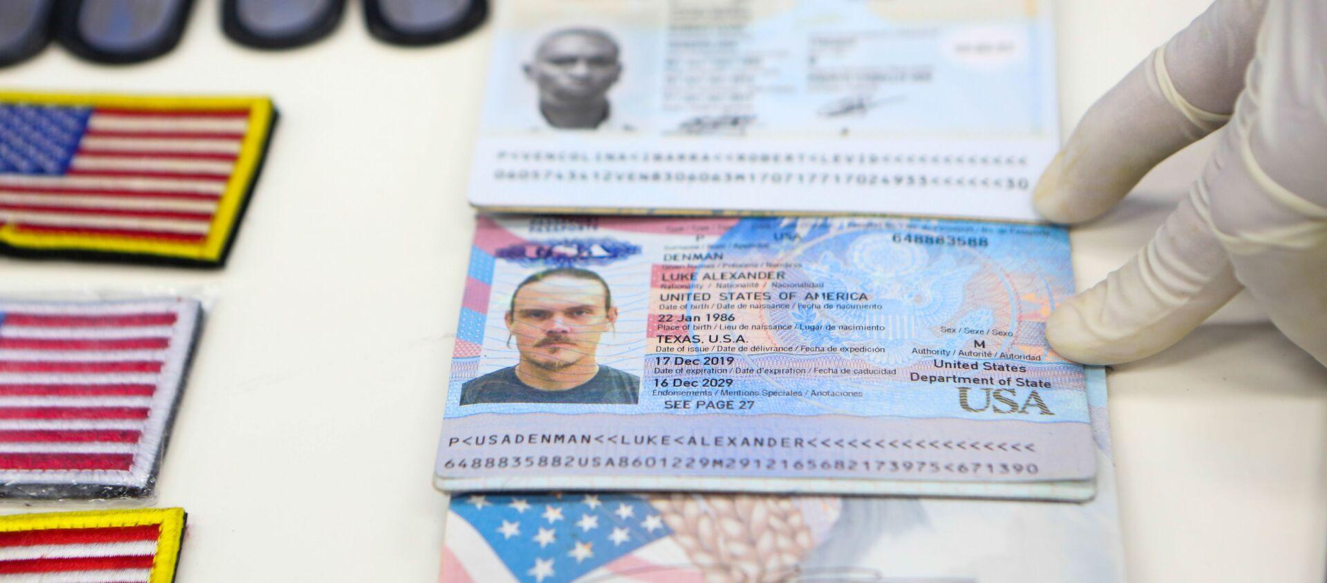 Documentos de identidad de los mercenarios detenidos en Venezuela - Sputnik Mundo, 1920, 05.05.2020
