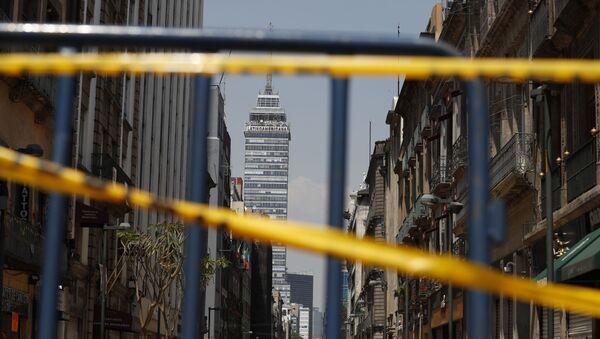Torre Latinoamericana en Ciudad de México - Sputnik Mundo