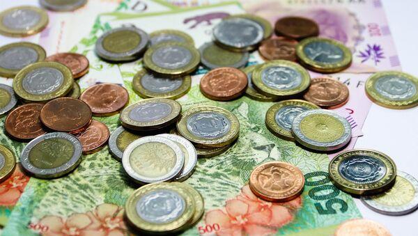 Pesos argentinos (imagen referencial) - Sputnik Mundo