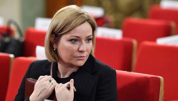Olga Liubímova, la ministra de Cultura de Rusia - Sputnik Mundo