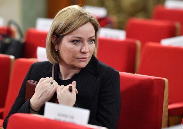 Olga Liubímova, la ministra de Cultura de Rusia