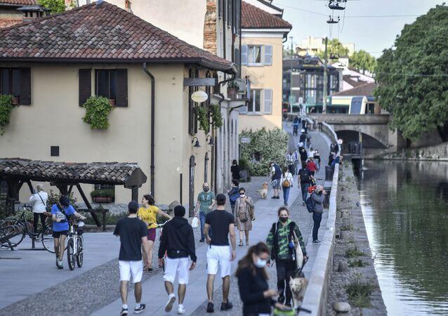 Desconfinamiento en Italia