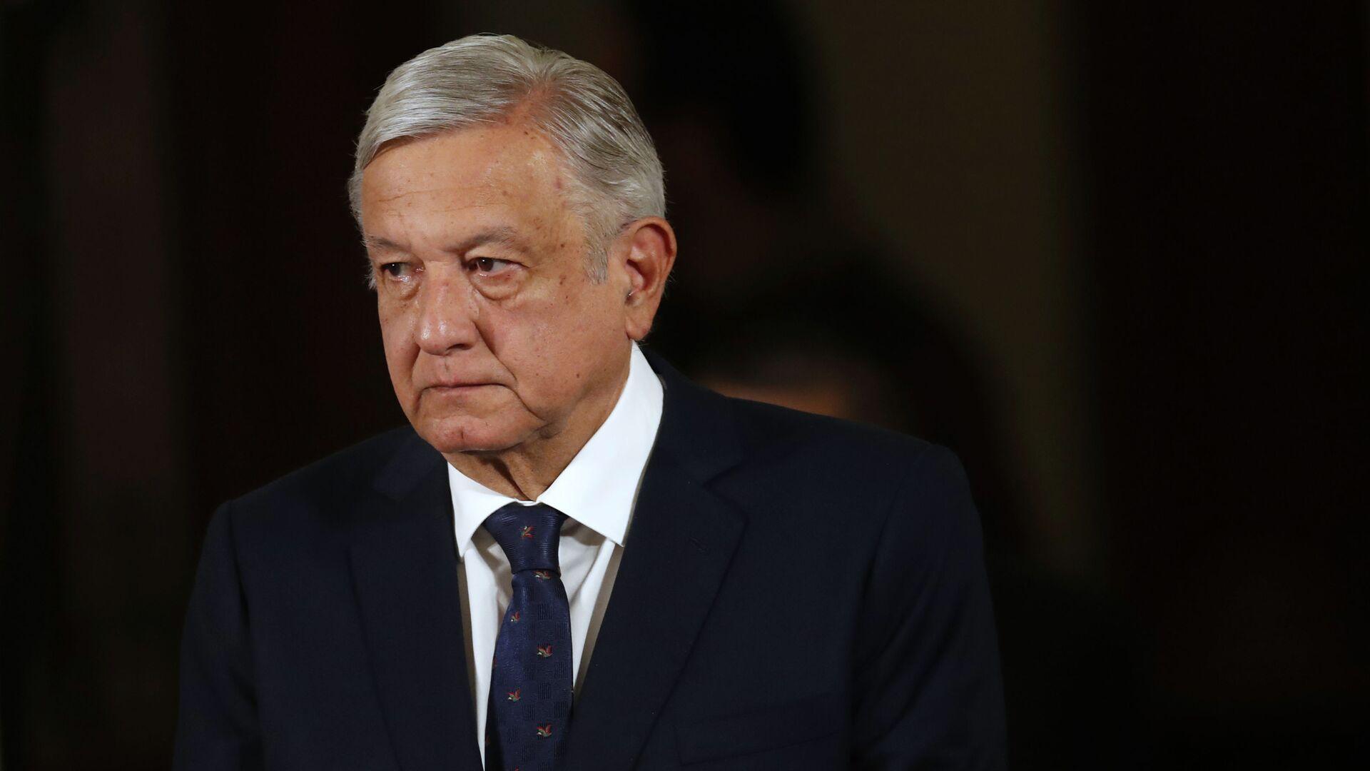 Andrés Manuel López Obrador, presidente de México - Sputnik Mundo, 1920, 19.02.2021
