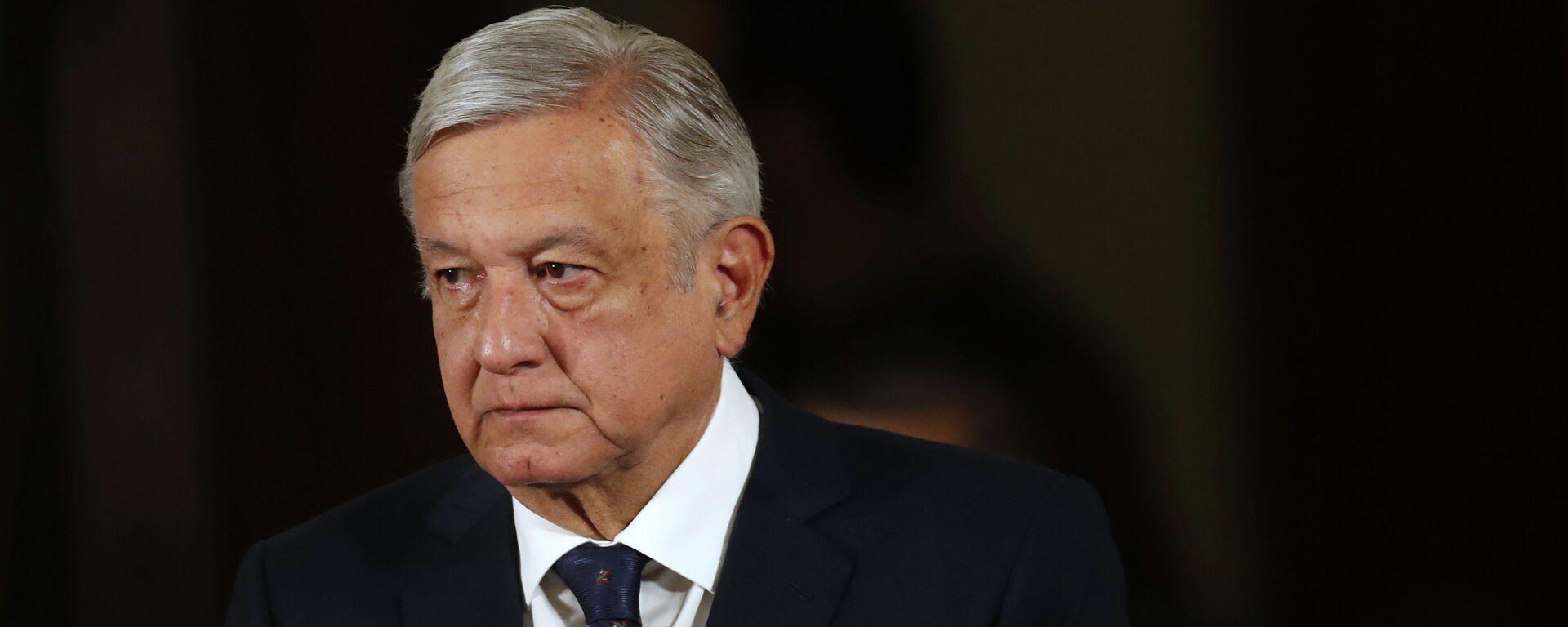Andrés Manuel López Obrador, presidente de México - Sputnik Mundo, 1920, 10.06.2021