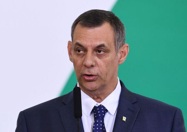 Otávio Rêgo Barros, portavoz del presidente brasileño Jair Bolsonaro