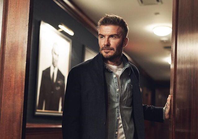 David Beckham, exfutbolista británico